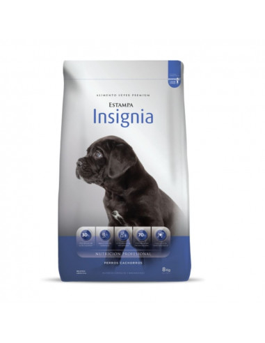 Estampa Insignia perro cachorro x 3 kg