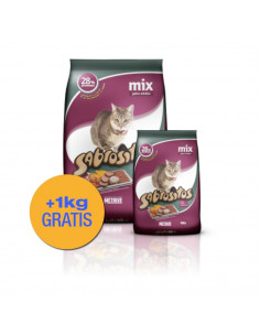 Sabrositos Mix Gatos x 10 +1 kg