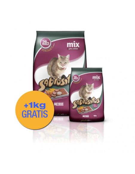 Sabrositos Mix Gatos x 10 +1 kg