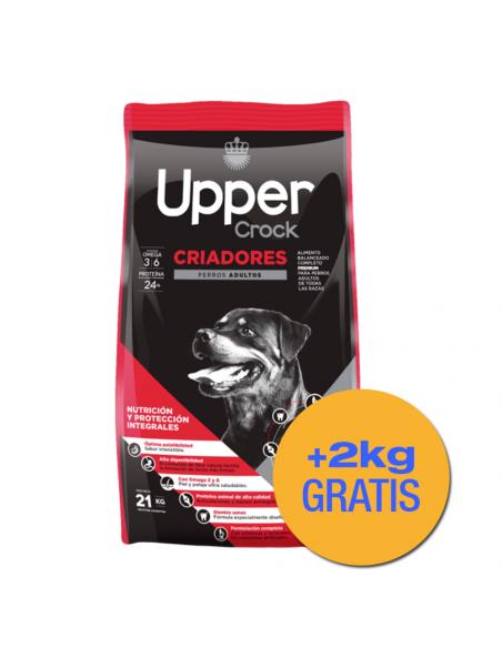 Upper Crock Criadores Perros Adultos x 21+ 2 kg