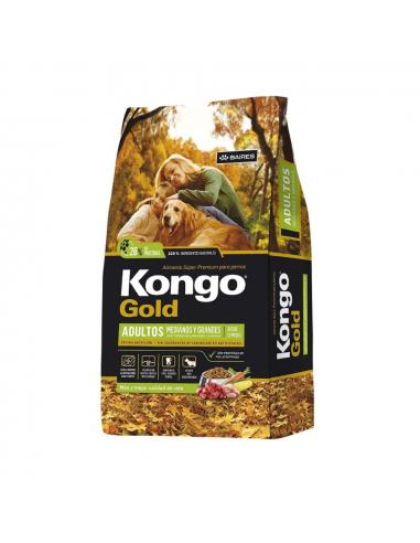 Kongo Gold Perros Adultos Medianos y Grandes x 21 kg