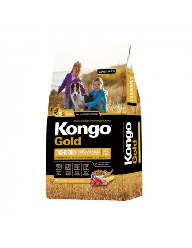Kongo Gold Perros Cachorros Todas las Razas x 15 kg