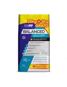 Balanced Perro Adulto Raza Mediana x 20+3 kg