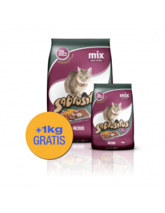 Sabrositos Mix Gatos Adultos x 10 +1 kg