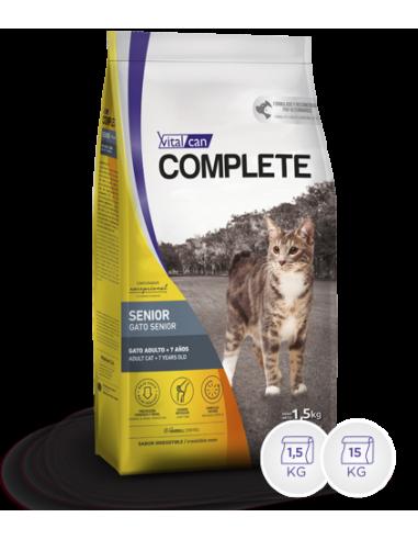 Complete Vital Can  Premium Gatos Senior x 7,5 kg