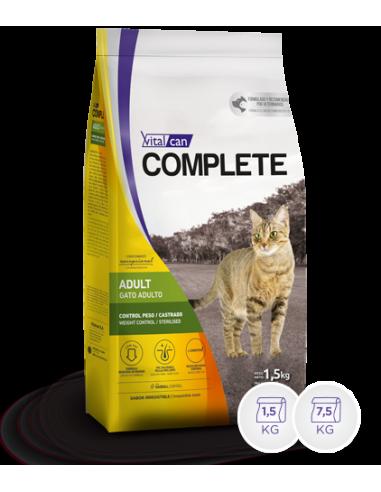 Complete Vital Can Gato Control de Peso/Castrado x 7,5 Kg