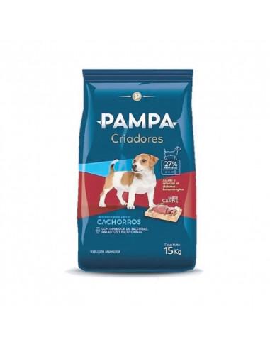 Pampa Criadores Cachorros Sabor Carne...