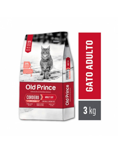Old Prince Gatos Proteínas Noveles Adult Cat x 3 kg